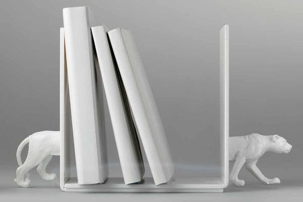Book Ends - Safari Animal - White-Stationery-PropShop24.com