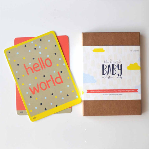 Mini Milestone Cards - baby-STATIONERY-PropShop24.com