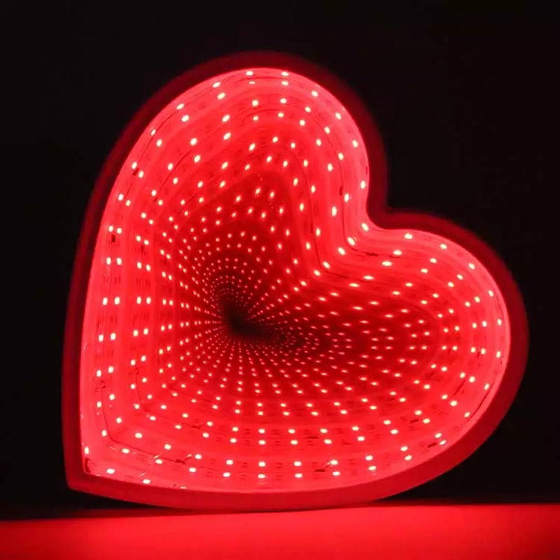 Infinity Heart Mirror-HOME ACCESSORIES-PropShop24.com
