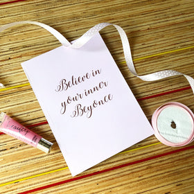 Notebook - Beyonce - Pink-STATIONERY-PropShop24.com