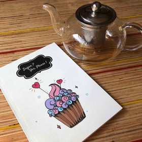 Notebook- Cupcake 9-STATIONERY-PropShop24.com