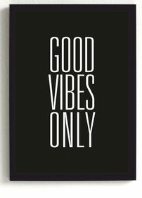 GOOD VIBES ONLY frame-Home-PropShop24.com