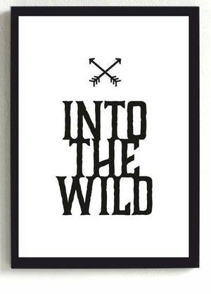 Into The Wild Frame-HOME ACCESSORIES-PropShop24.com