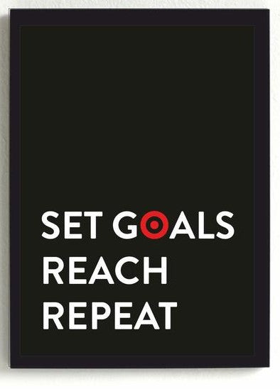 Set Goals Frame-Home-PropShop24.com