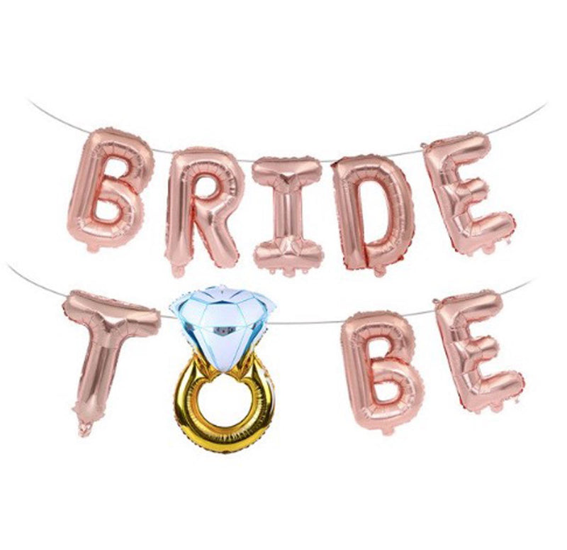 Balloon - Bride To Be - Rose Gold-BAR + PARTY-PropShop24.com