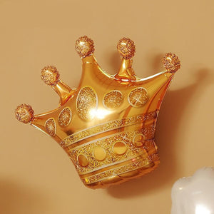 Balloon - Gold Crown-BAR + PARTY-PropShop24.com