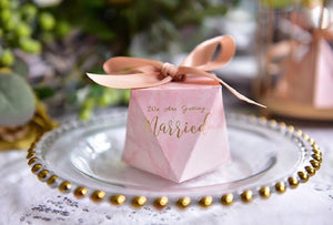 Getting Married Marble Candy Boxes - Pack Of 10-DESK ACCESSORIES-PropShop24.com