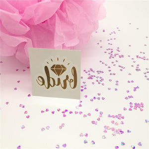Party Stickers - Bride Bachelorette - Pack Of 10-BAR + PARTY-PropShop24.com