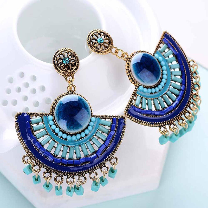 Azora Dangler Earrings-EARRINGS-PropShop24.com