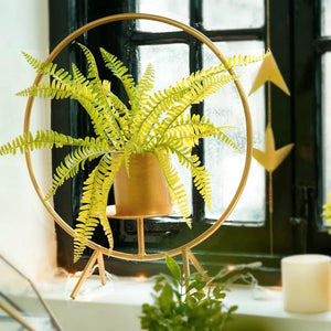 Sunshine In A Pot Table Planter With Pot-HOME ACCESSORIES-PropShop24.com