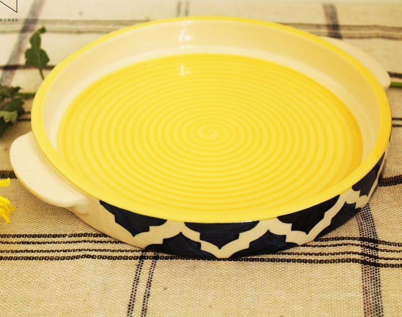 Serving Tray - Umrao - Yellow-HOME-PropShop24.com