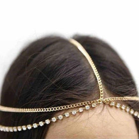 Aurnia Layered Head Chain-JEWELLERY-PropShop24.com
