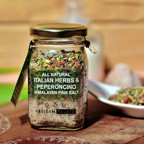 All Natural Italian Herbs and Peperoncino Himalayan Pink Salt-FOOD-PropShop24.com