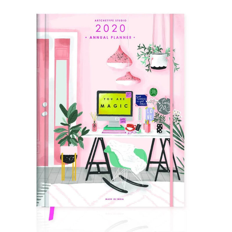 2020 Medium Hardbound Work It Annual Planner-NOTEBOOKS + JOURNALS-PropShop24.com
