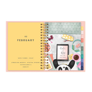2020 Medium Wire-O Bound Work It Annual Planner-NOTEBOOKS + JOURNALS-PropShop24.com