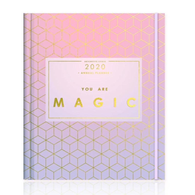 2020 Grande Binder Clip Classic Annual Planner-NOTEBOOKS + JOURNALS-PropShop24.com