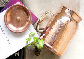 Pure Collection- Royal Jug Hammered Copper-HOME-PropShop24.com