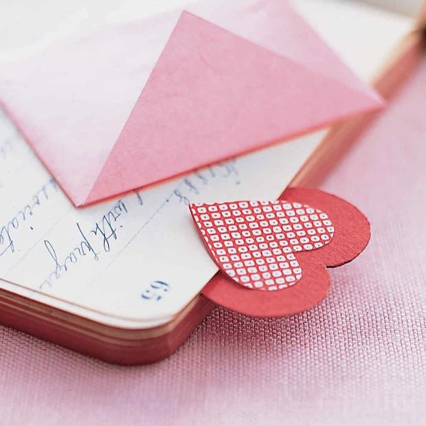 Bookmark - Double Heart - Set Of 2-DESK ACCESSORIES-PropShop24.com