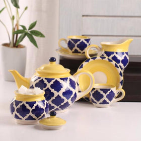 Umrao 15 Piece Tea Set Royal Blue-HOME-PropShop24.com