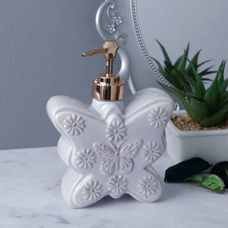 Soap Dispenser - Large Butterfly-BATHROOM ESSENTIALS-PropShop24.com