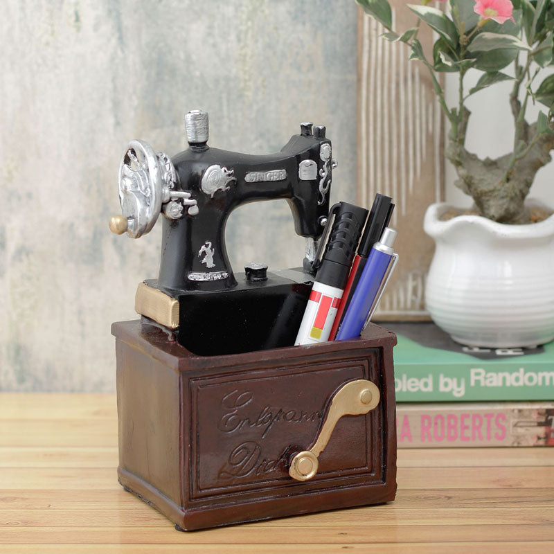 Desk Organizer - Large Vintage Sewing Machine-DESK ACCESSORIES-PropShop24.com