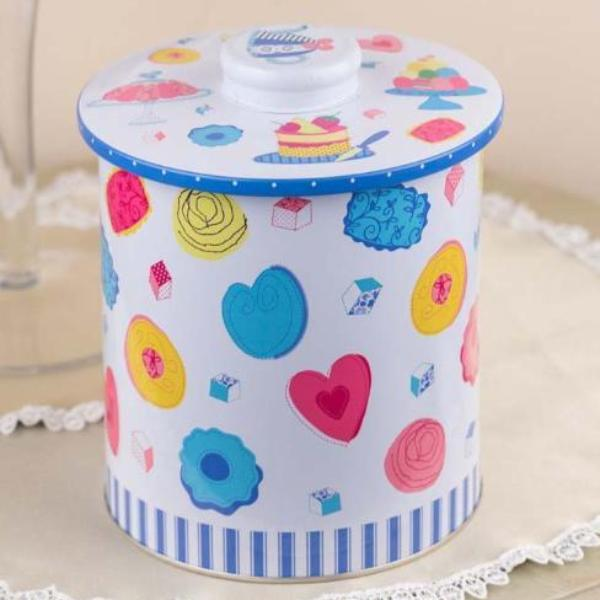 Cupcake Long Metal Tin-DINING + KITCHEN-PropShop24.com
