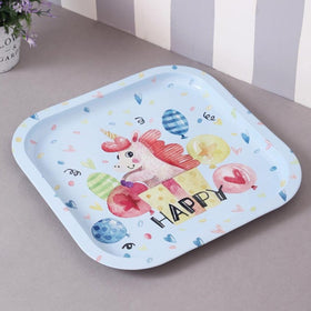 Happy Unicorn metal tin tray-HOME-PropShop24.com