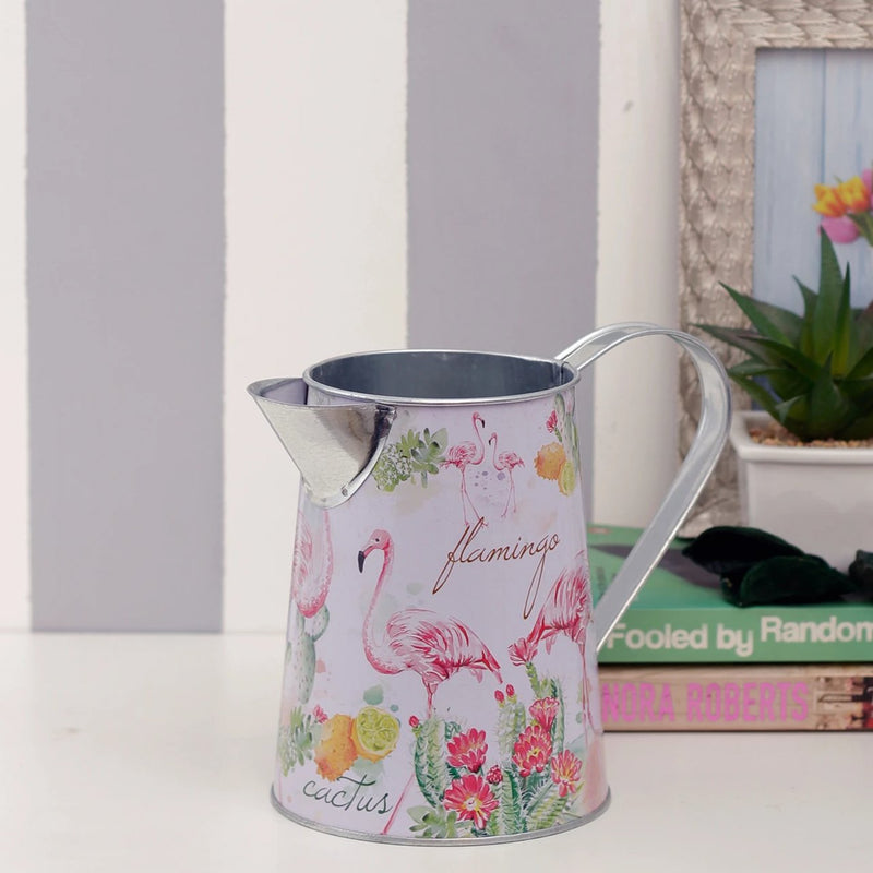 Flamingo Flower Vase And Watering Jug-HOME ACCESSORIES-PropShop24.com