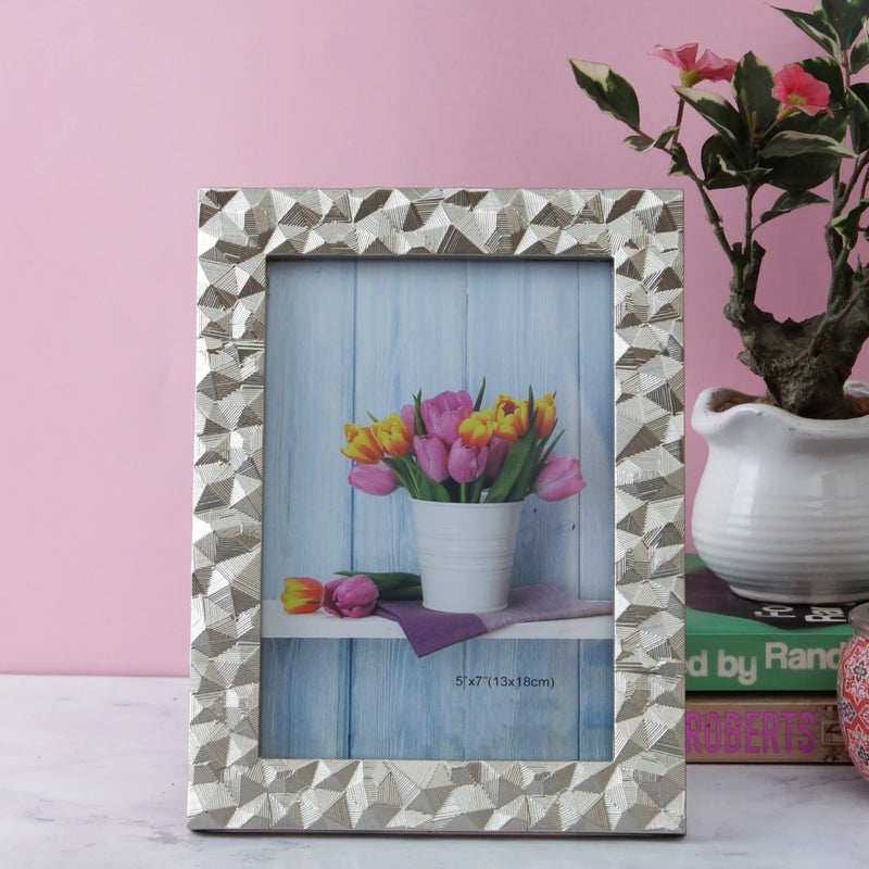 Mosaic Pattern Bordered Photo Frame-HOME ACCESSORIES-PropShop24.com