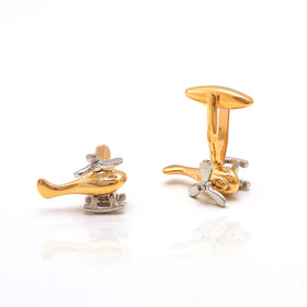 Cufflinks - Helicopter-FASHION-PropShop24.com