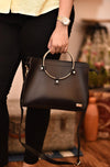 Sling Bag - Black Ring-WOMEN-PropShop24.com