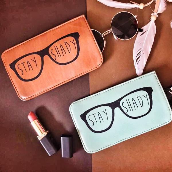 Sunglass Cover -Stay Shady(Tan)-WOMEN-PropShop24.com