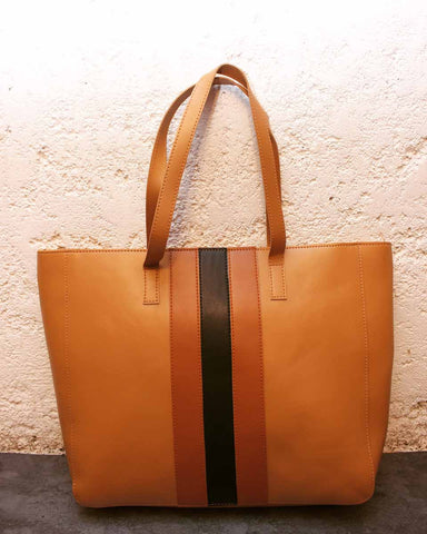 tote - tan - mid stripes-FASHION-PropShop24.com