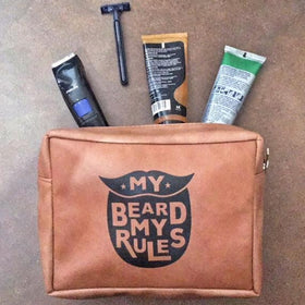 Beard Rules Mens Pouch-PropShop24.com