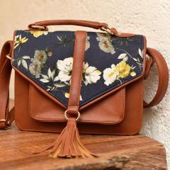 Sling Bag - Floral Tan-FASHION-PropShop24.com
