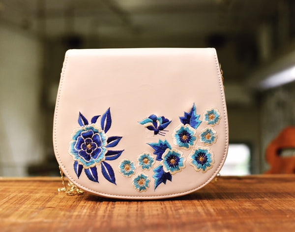 Floral Embroidery Sling Bag-FASHION-PropShop24.com