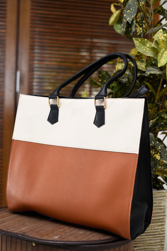 Tote Bag - Colourblock-WOMEN-PropShop24.com