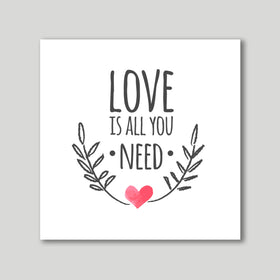 Art Print - Love Is All You Need-HOME-PropShop24.com