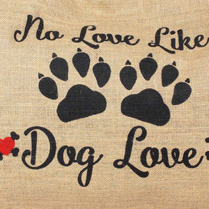 Dog Love Jute Market Bag-WOMEN-PropShop24.com