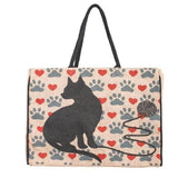Cat Love Jute Market Bag-FASHION-PropShop24.com