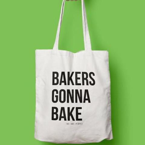 BAKERS GONNA BAKE TOTE