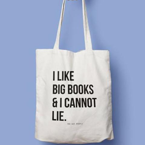 I LIKE BIG BOOKS TOTE-Fashion-PropShop24.com