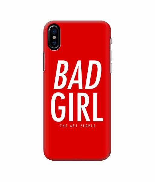Bad Girl Mobile Case - Apple iPhone X -GADGETS-PropShop24.com