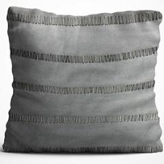 Cushion Cover - Patterned Grey-HOME ACCESSORIES-PropShop24.com