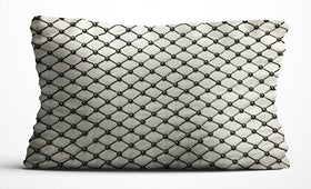Cushion Cover - Checks - Ivory-Home-PropShop24.com