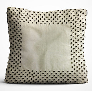 Cushion Cover - Border - Cream-HOME ACCESSORIES-PropShop24.com