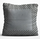Cushion Cover - Border - Grey-Home-PropShop24.com
