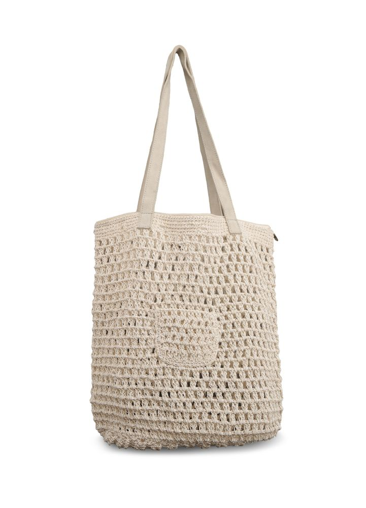 Handbag - Macrame Square Beach Bag-WOMEN-PropShop24.com