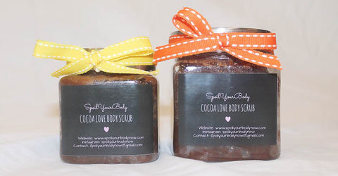 body scrub - cocoa love - big