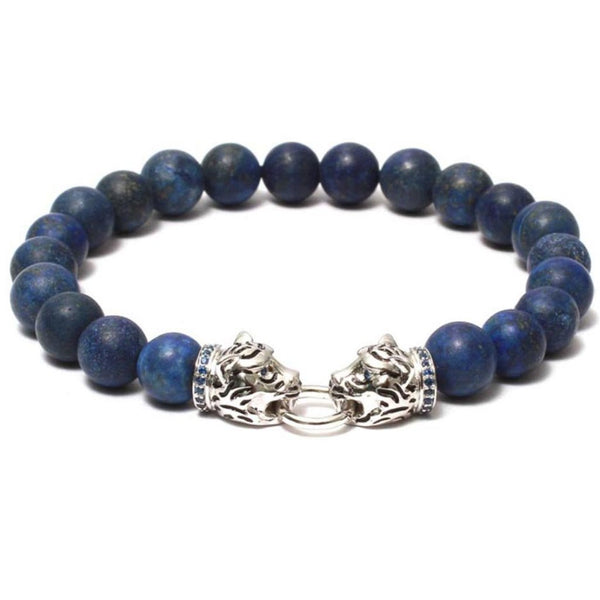 Bracelet-The Twin Tiger Vintage Bracelet - Blue-FASHION-PropShop24.com